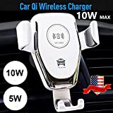 XuBa 10W QI Wireless Fast Charger Car Mount Holder Stand for i-phon'eX XS S'amsung S9