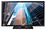 Samsung S24E450M Monitor 24' Full HD, 1920 x 1080, 60 Hz, 5 ms, D-Sub, DVI, con Casse Integrate, Regolabile in Altezza, Swivel, Pivot, Nero