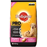 Pedigree Pro Expert Nutrition Dry Food For Large Breed Puppy Dogs, Chicken, 10 Kg