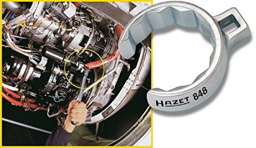 HAZET 848Z-36 Offene Doppel-Sechskant Ringschlüssel