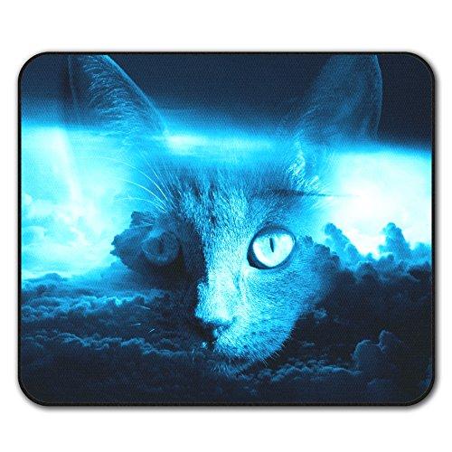 Kätzchen Tier bezaubernd Katze Mouse Mat Pad, Ausgeflippt Rutschfeste Unterlage - Glatte Oberfläche, verbessertes Tracking, Gummibasis von Wellcoda