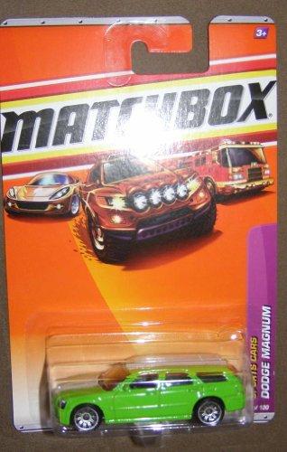 2010-matchbox-sports-cars-9-green-with-white-stripe-dodge-magnum