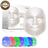 Project E Beauty LED Photon Therapy 7 Color Light Treatment Skin Rejuvenation Acne Spot Wrinkle Whitening Facial Beauty Daily Skin Care Mask