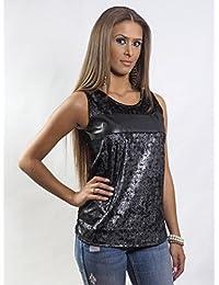 Elegantes Black Diva Top