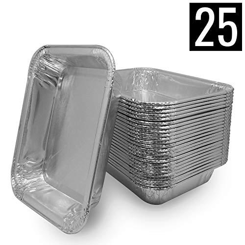 Mamatura 25 Aluschalen | Passend für alle Napoleon & Broil King Grills | High Quality Alu-Tropfschalen, Grillschalen, 25 Stück