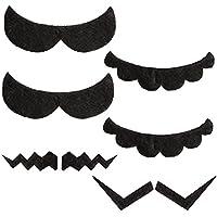 Katara 1826 - Set de 6 Bigotes Autoadhesivos Super Mario Bros, Accessorios de Disfraz -