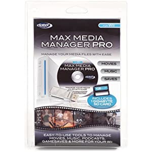 Wii MAX Media Manager Pro (+1GB SD Card)