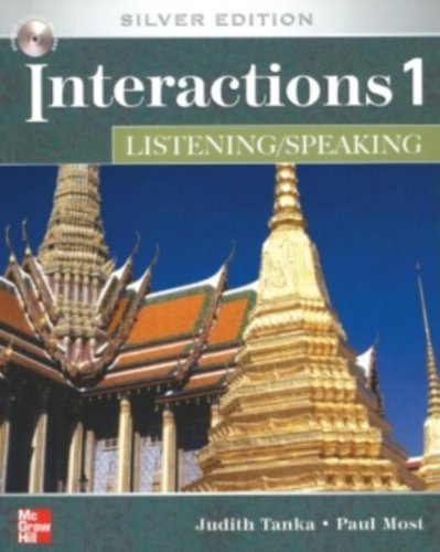 Interactions Level 1 Listening/Speaking Student Book plus Key Code for E-Course