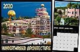 Hundertwasser Broschürenkalender Architektur 2020: Das Original