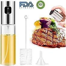 GoodGoodday Pulverizador de Aceite, Spray de Aceite Cocina 100ml, Dispensador de Aceite de Oliva