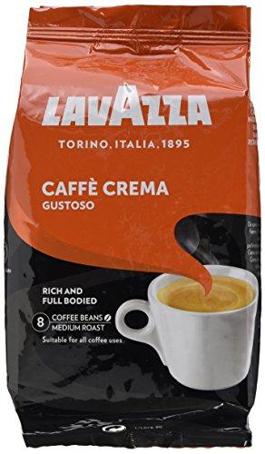Lavazza Caffè Crema Gustoso, 6er Pack (6 x 1 kg)