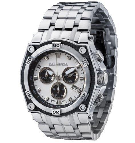 calabre-corona-deux-tons-blanc-et-cadran-noir-chronographe-montre-pour-hommes-avec-cadran-en-fibre-d
