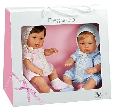 Muñecas Arias - Caja 2 muñecos gemelos (60022) por Muñecas Arias