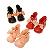 HUHU833 Cute Baby Jelly Shoes Girl Shoes Children Bow Rain Boot