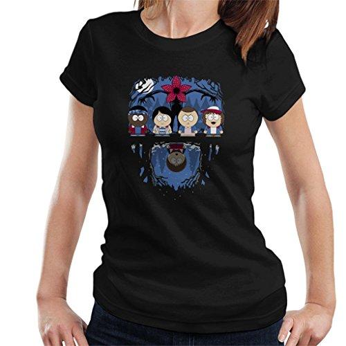 Stranger Things South Park Mix Women's T-Shirt