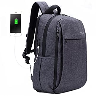 516HUD%2ByRyL. SS324  - Fubevod Mochila Laptop con puerto USB Escuela Universitaria Mochila Bolsa Ordenador