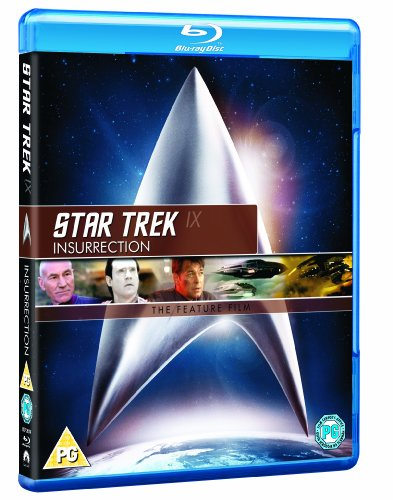 Star Trek 9: Insurrection (Remastered) [Blu-ray] [UK Import]