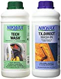 NIKWAX TECH LAVAGGIO E tx.direct detergente confezione doppia - 1000 ml