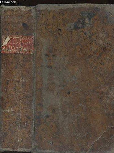 DICTONARIUM LATINO-GALLICUM - DICTIONNAIRE LATIN-FRANCAIS composé sur le plan de l'ouvrage intitule - MAGNUM TOTIUS LATINITATIS LEXICON, DE FACCIOLATI / NOUVELLE EDITION.