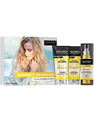 John Frieda Sheer Blonde Go Blonder - Secret Blogger Box Charlie 450 ml - Inklusive 1 Gratisartikel - Inhalt: Shampoo (175 ml), Conditioner (175 ml) und gratis Spray (100 ml)