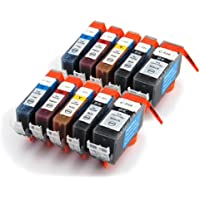 CLI-521/ PGI-520 2 sets Compatible Ink Cartridges WITH CHIPS for Canon Pixma IP3600 IP4600 IP4700 MP540 MP550 MP560 MP620 MP630 MP640 MP980 MP990 MX860 MX870 - CLI521 / PGI520