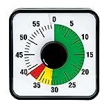 EDUPLAY 120504 Zeitdauer-Uhr Automatik magnetisch mit Ampelscheibe (1 Stück)