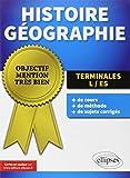 Objectif Mention Très Bien Histoire Géographie Terminales L/ES