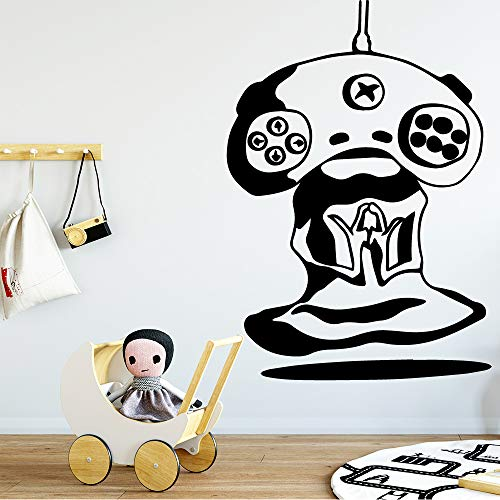 jiuyaomai Lustige Bild Von Spiel Wandaufkleber Moderne Mode Wandaufkleber Dekoration Wohnzimmer Kinderzimmer Abnehmbare Vinyl Kunst Aufkleber84 * 120 cm