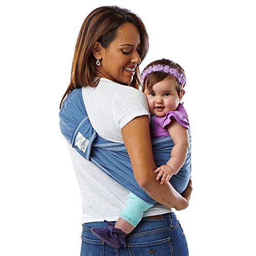 516HWUZuwTL. SS500  - Baby K'tan Cotton Denim Baby Carrier (XS)