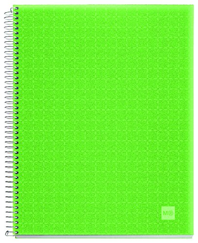 candy-colours-47707-quaderno-4-colori-a7-200-fogli-cuadricula-polipropilene-apple-green