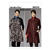 Butterick Patterns 6254ZZ Größen 16–18/Large 20–11/2x große 24–26Schnittmuster Coat Kleid