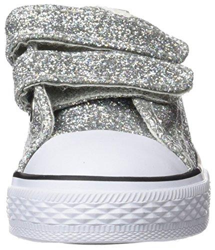 Conguitos  HVS14102, Chaussures souples pour bébé Argenté