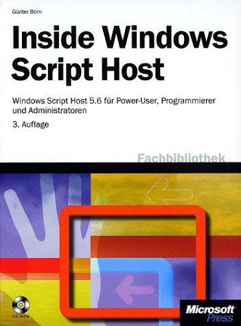 Inside Windows Script Host, m. CD-ROM