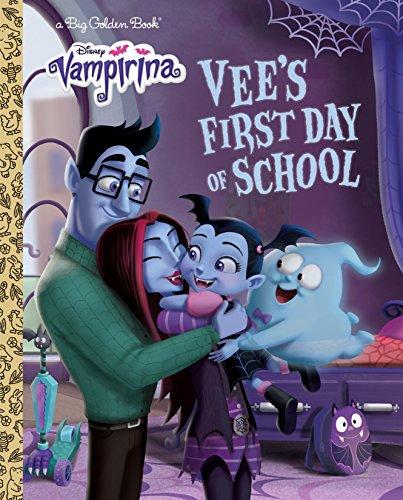 Vee's First Day of School (Disney Junior: Vampirina) (Big Golden Books: Disney Vampirina)