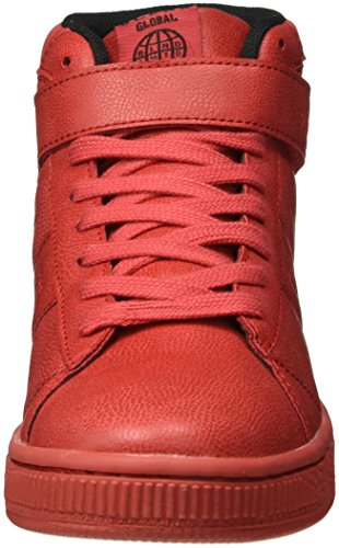 Blend Footwear, Baskets Basses Mixte Adulte Rouge - Rot (NOVA Red)