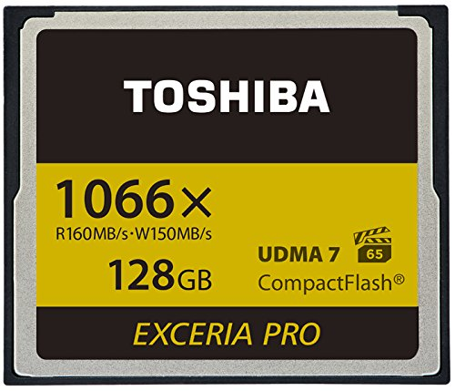 Toshiba exceria pro c501 128gb memoria flash compactflash