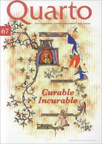 Quarto n° 67. Curable et incurable par Collectif