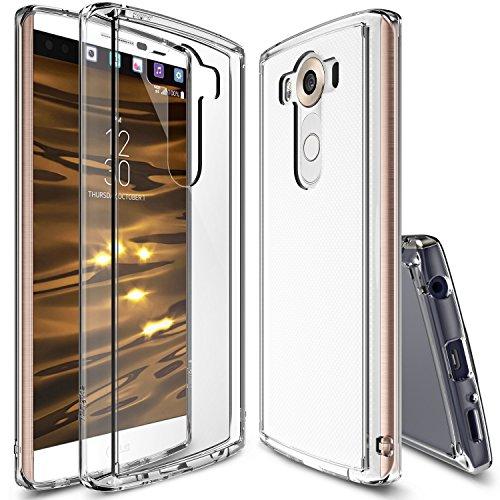 Ringke FUSION Schutzhülle für LG V10 Hülle Case [SLIM][CRYSTAL VIEW] Premium Cover Bumper, Fallschutz mit All Arround Protection