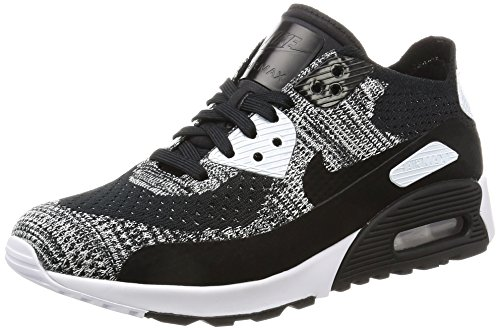 Nike Air MAX 90Ultra 2.0Flyknit Zapatillas, Black/Black-White-ANTHRACI, 36,5