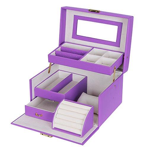 Songmics-Caja-Joyero-Joyas-Aretes-Dijes-anillo-de-la-pulsera-Joyera-Caja-de-almacenamiento-JBC114P