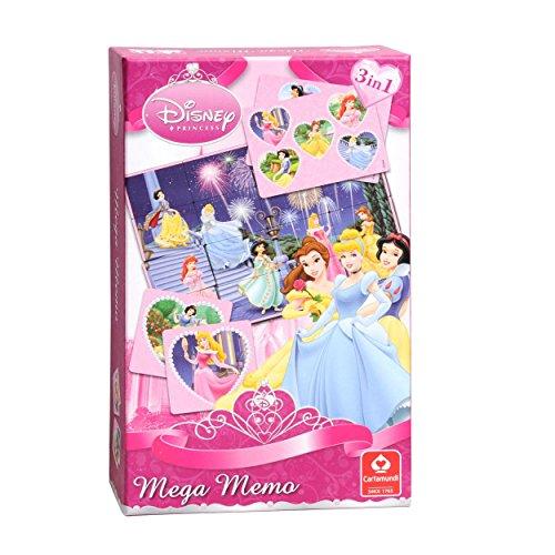 Cartamundi - 107995924 - Jeu de cartes - Méga Mémo - Disney Princess