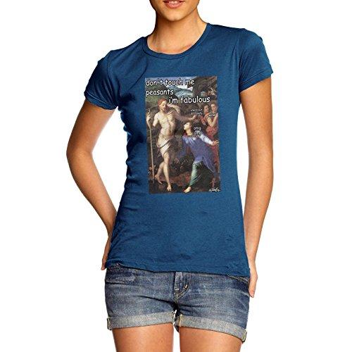 TWISTED ENVY Women's Funny Bronzino Noli Me Tangere T-Shirt