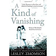 Kind of Vanishing by Lesley Thomson (2011-03-01)