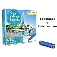 VIVABOX Caja Regalo -3 DIAS DE ENSUEÑO EN Europa- 600 estancias.Incluye: