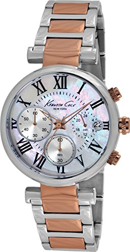Kenneth Cole Dress Sport KC4970 Chronograph for women Mother-Of-Pearl Dial