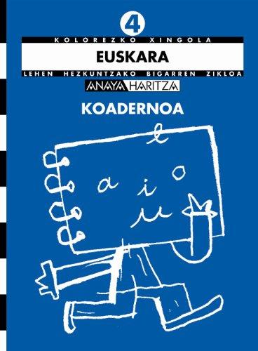 Euskara 4. Koadernoa (Kolorezko xingola)