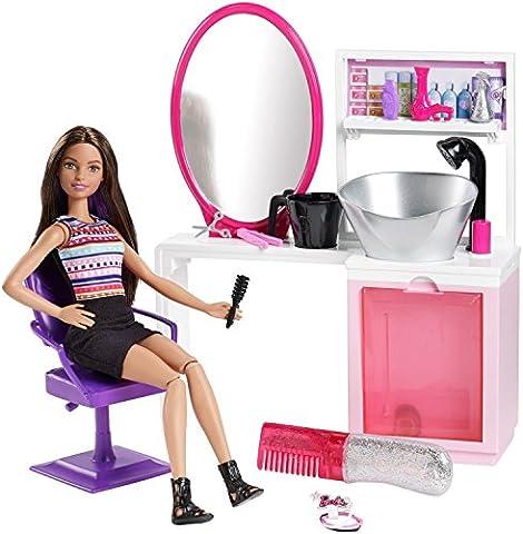 Mattel - Barbie - Sparkle Style - Salon de Coiffure