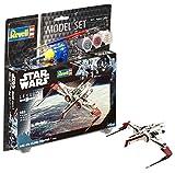 Revell Modellbausatz Star Wars ARC-170 Fighter im Maßstab 1:83, Level 3, originalgetreue Nachbildung mit vielen Details, Model Set mit Basiszubehör, einfaches Kleben und Bemalen, 63608