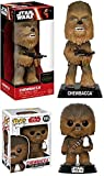 Funko POP! Star Wars: Chewbacca (The Last Jedi) + Wacky Wobbler Chewbacca – Stylized Vinyl Bobble-Head Figure Set NEW