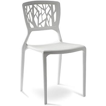 Designetsamaison Chaise Design Blanche